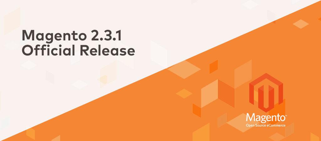 Magento Release 2.3.1