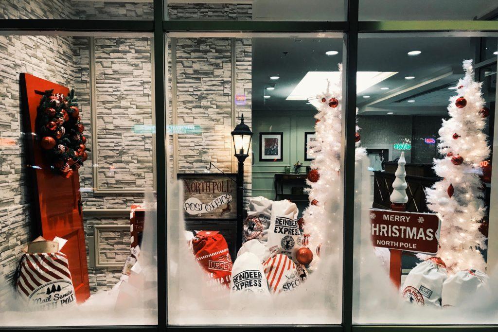 Einzelhandel Weihnachten